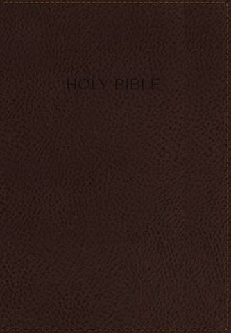NKJV, The Foundation Study Bible, Imitation Leather, Brown, Indexed