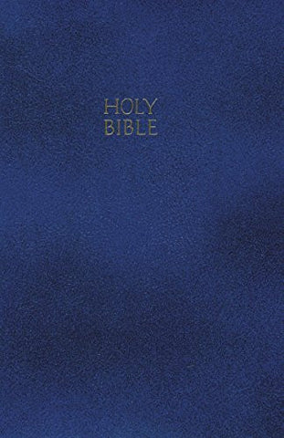 NKJV, Gift and Award Bible, Imitation Leather, Blue, Red Letter Edition