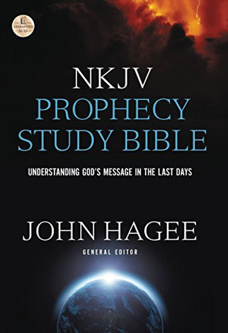 NKJV, Prophecy Study Bible, Hardcover: Understanding God's Message in the Last Days