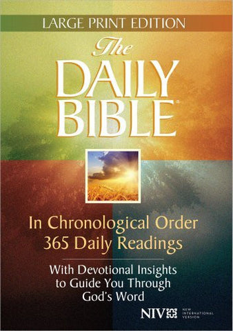 The Daily Bible Large Print Edition