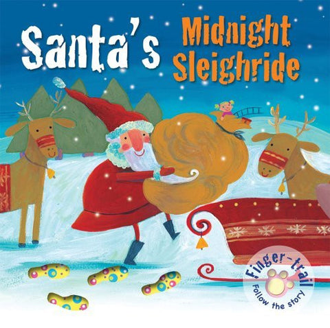 Santa's Midnight Sleighride (Finger-trail Animal Tales)