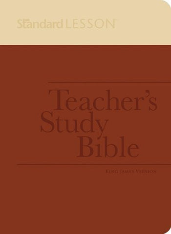 Standard Lesson Teacher's Study Bible?ùKing James Version (DuoTone Edition)
