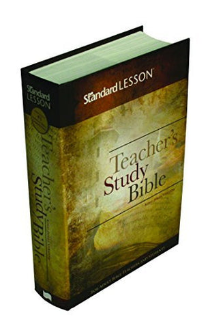 Standard Lesson Teacher's Study Bible?ùKing James Version (Hardcover Edition)