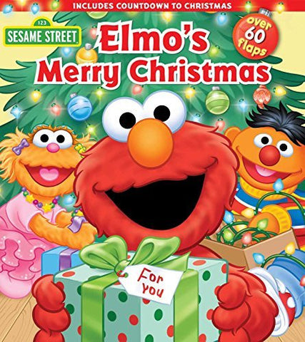 Sesame Street: Elmo's Merry Christmas (Lift-the-Flap)