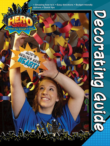 Vacation Bible School VBS Hero Central Decorating Guide: Discover Your Strength in God! (Hardcover - January 16, 2018)