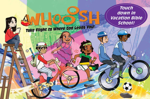 Vacation Bible School (VBS) 2019 WHOOOSH Invitation Postcards (Pkg of 24): Take Flight to Where God Leads You! (Hardcover - January 15, 2019)