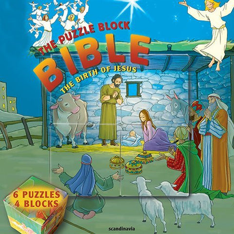 The Birth of Jesus: The Puzzle Block Bible (Puzzle Block Bibles)