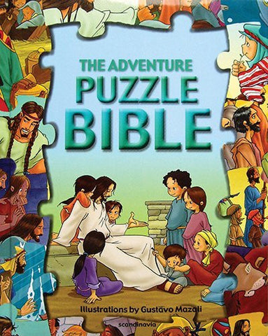 The Adventure Puzzle Bible (Puzzle Bible Books)