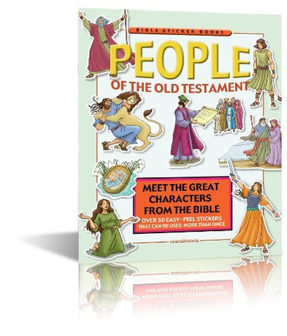 People of the Old Testament (Bible Sticker Book)