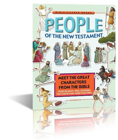 People of the New Testament (Bible Sticker Book)