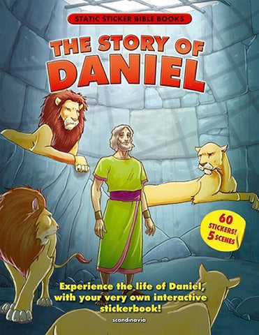Static Sticker Book / Story of Daniel (Static Sticker Bible Books)