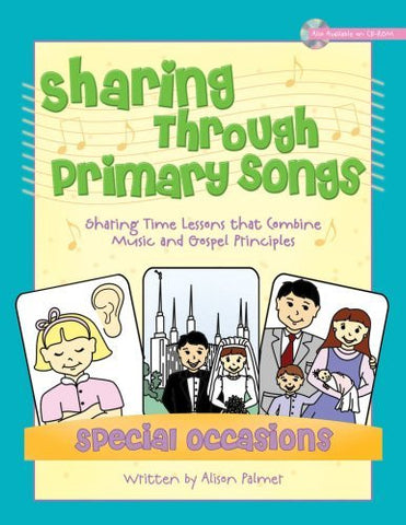 Sharing Through Primary Songs - Special Occasions (Book)