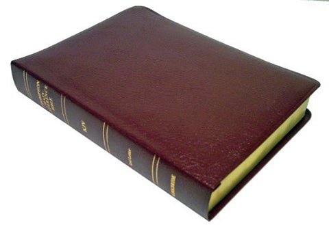 Thompson Chain Reference Bible (Style 519burgundy) - Large Print KJV - Bonded Leather