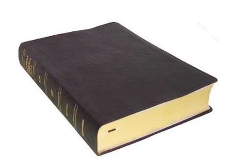 Thompson Chain Reference Bible (Style 514black) - Large Print KJV - Genuine Leather with Capri Grain