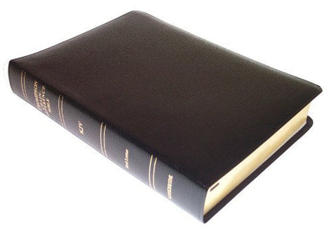 Thompson Chain Reference Bible (Style 509black) - Regular Size KJV - Bonded Leather
