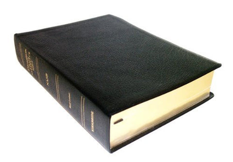 Thompson Chain Reference Bible (Style 609black) - Regular Size NASB - Bonded Leather