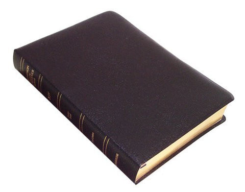 Thompson Chain Reference Bible (Style 519black index) - KJV Large Print - Bonded Leather