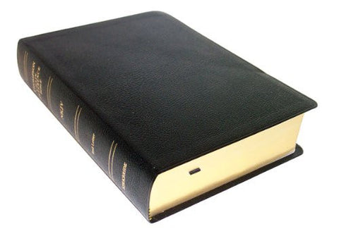 Thompson Chain Reference Bible (Style 309black index) - Regular Size NKJV - Bonded Leather