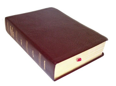 Thompson Chain Reference Bible (Style 309burgundy index) - Regular Size NKJV - Bonded Leather