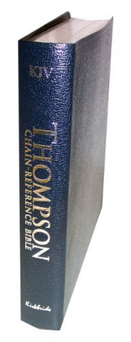 Thompson Chain Reference Bible (Style 509blue index) - Regular Size KJV - Bonded Leather