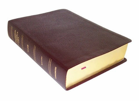 Thompson Chain Reference Bible (Style 609burgundy index) - Regular Size NASB - Bonded Leather