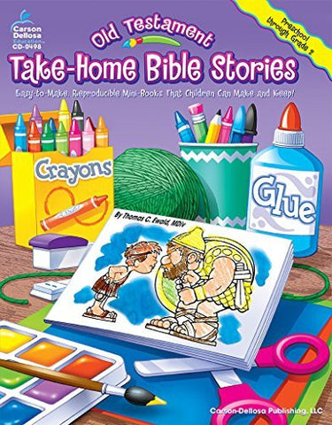 Old Testament Take-Home Bible Stories, Grades PK - 2: Easy-to-Make, Reproducible Mini-Books That Children Can Make and Keep