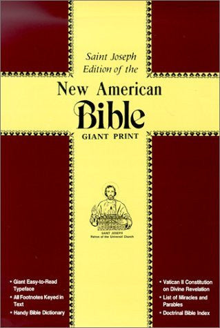 New American Bible: St Joseph Edition