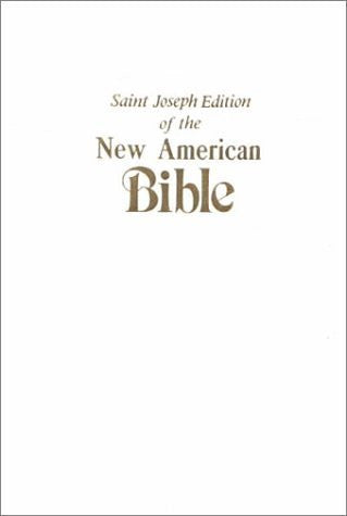 New American Bible/Gift Edition/White Imitation Leather/609 10