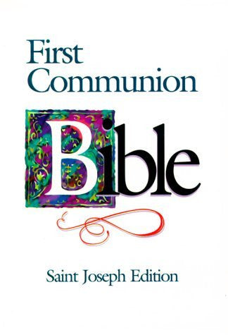 Saint Joseph First Communion Bible-NABRE (St. Joseph)