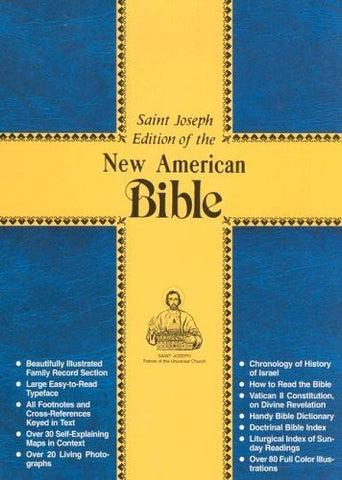 Saint Joseph Edition of the New American Bible/609-13W