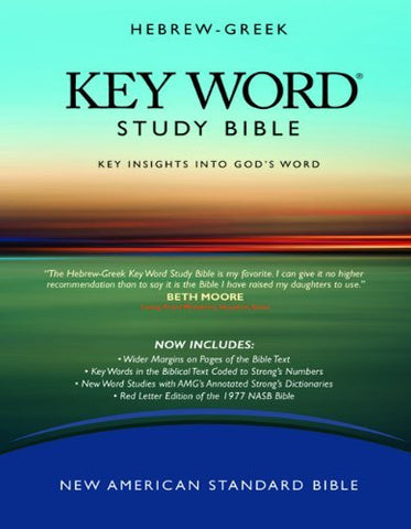 The Hebrew-Greek Key Word Study Bible: NASB-77 Edition, Black Bonded (Key Word Study Bibles)