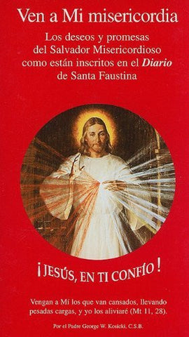 Ven A Mi Misericordia (sp) Single B