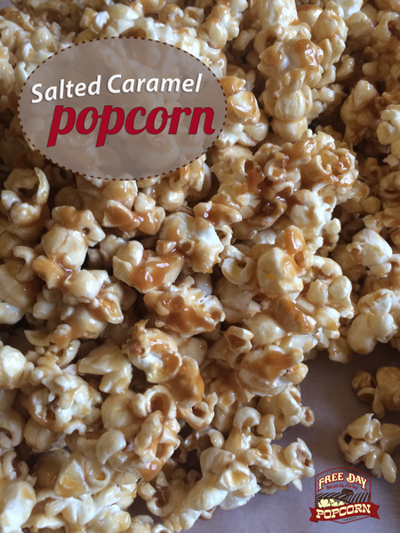 Happy National Caramel Popcorn Day!