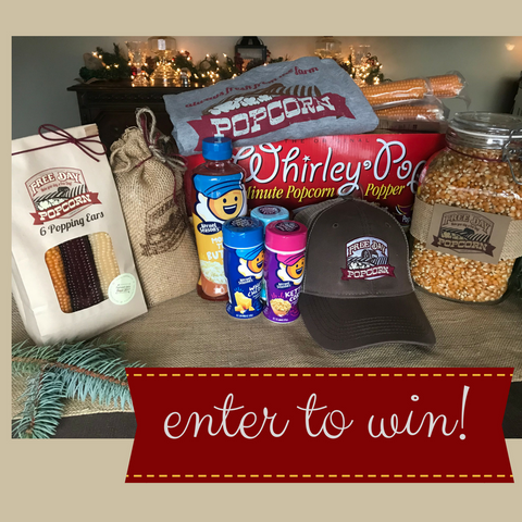 enter to win popcorn prize pack