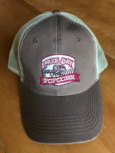 Free Day Popcorn Washed Trucker Hat (brown/khaki)