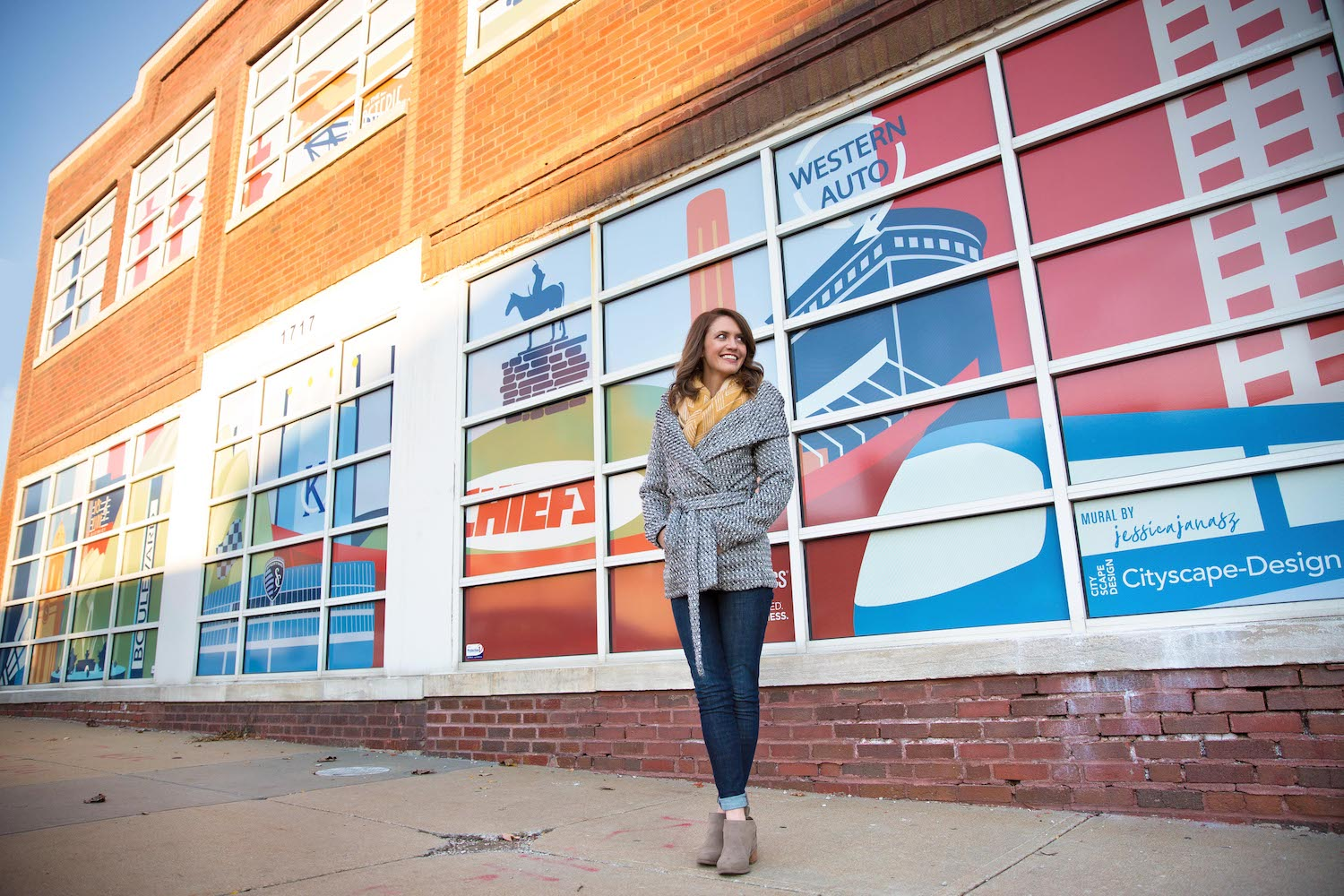 kansas city mural cityscape design