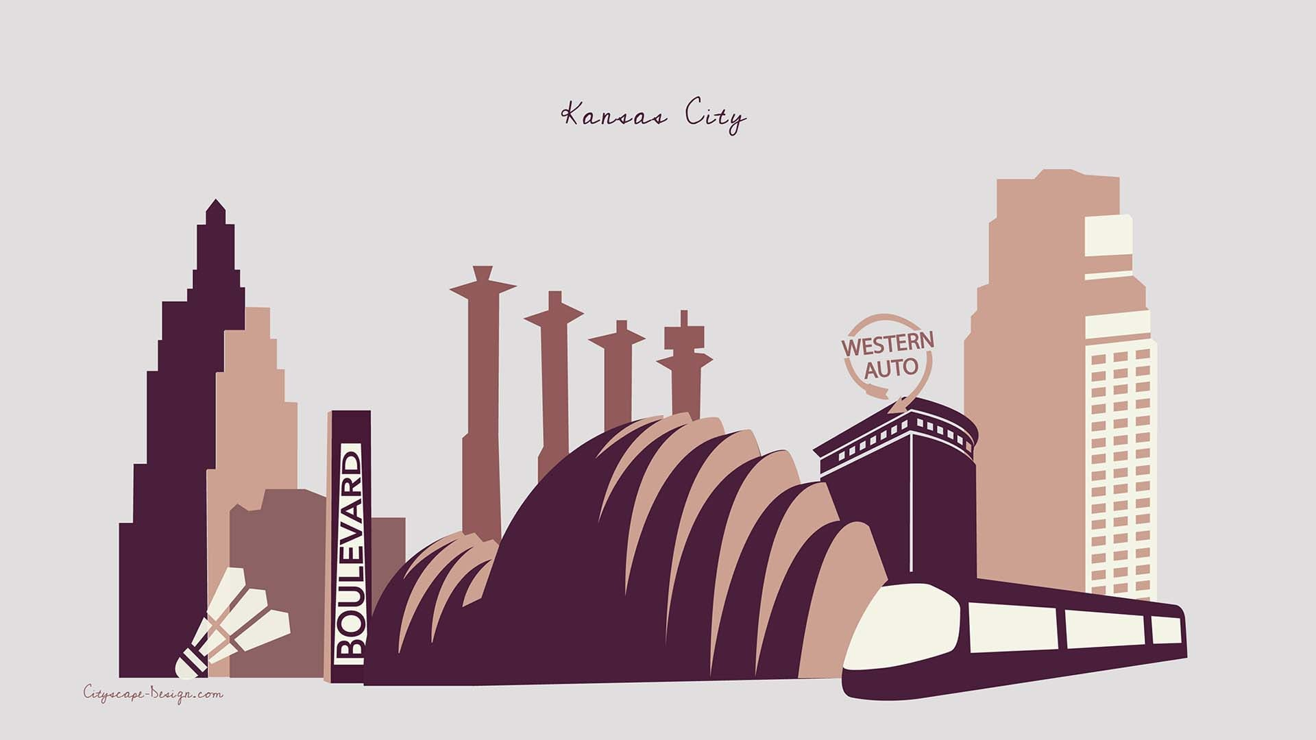 cityscape design desktop wallpaper kansas cityblush