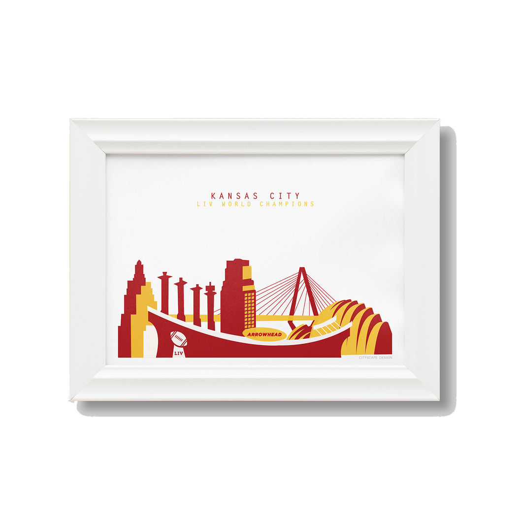 Kansas City Chiefs LIV Champions Print
