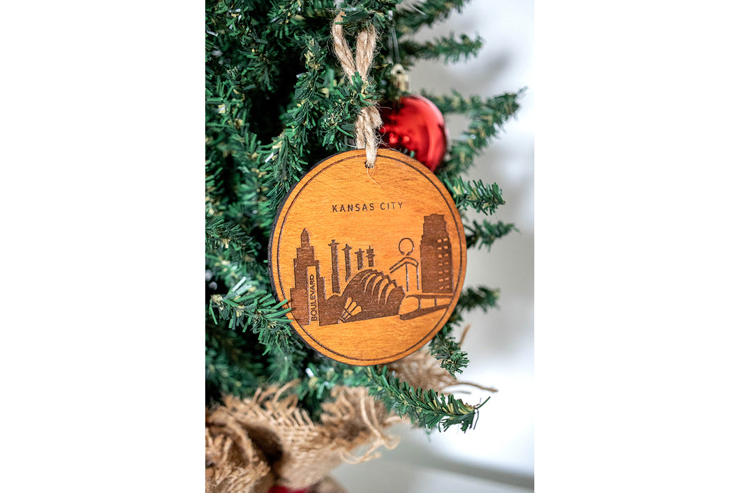 Kansas City Ornaments | PREORDER