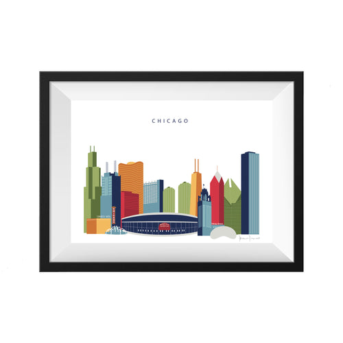 Chicago Illinois Print