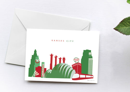 Kansas City Missouri Christmas Cards