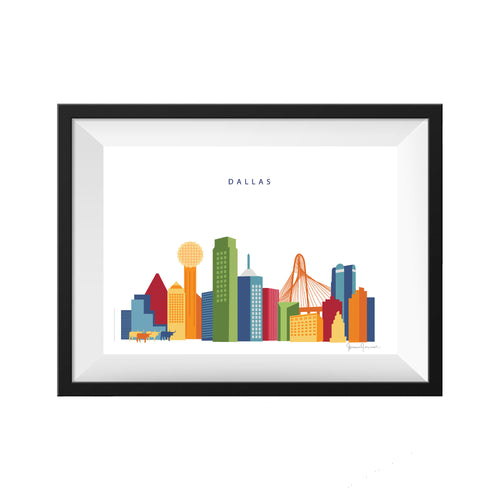 Dallas Texas Print