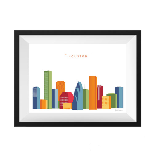 Houston Texas Print