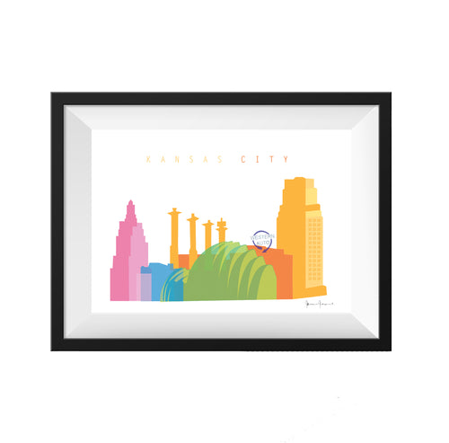 Kansas City Missouri Original Print