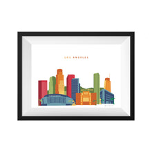 Los Angeles California Skyline Print