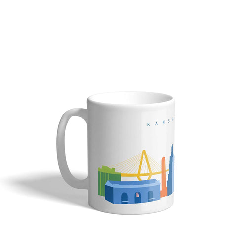 downtown kansas city missouri panoramic mug