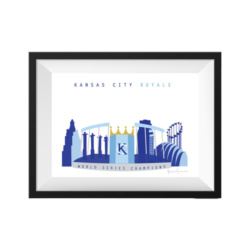 KC WORLD SERIES PRINT