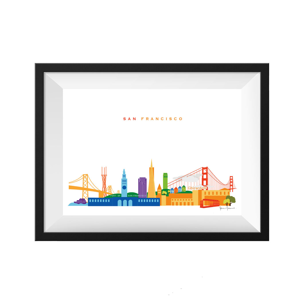 San Francisco California Print