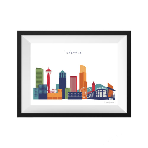 Seattle Washington Print