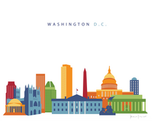Washington D.C. Skyline Print